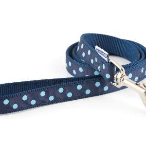 Polka Dot Lead Blue