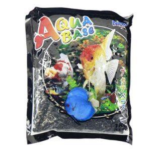 Aquabase Black aquarium gravel 5kg