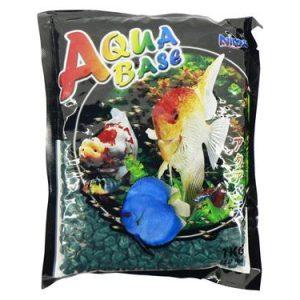 Aquabase Green aquarium gravel 1kg