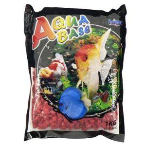 Aquabase red aquarium gravel 1kg