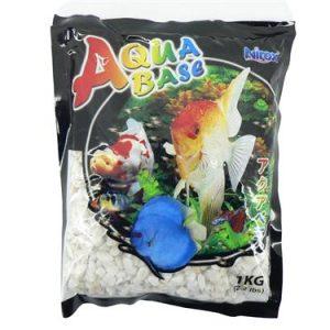 Aquabase White aquarium gravel 1kg
