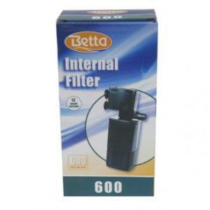 Betta Aquarium Filter 600 Litres Per Hour