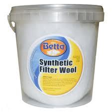 Betta filter floss 25g