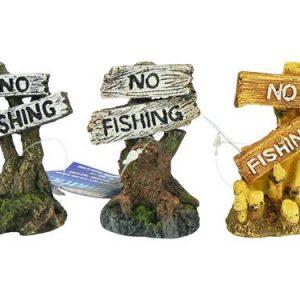 CLASSIC NO FISHING ORNAMENT 8CM x 1
