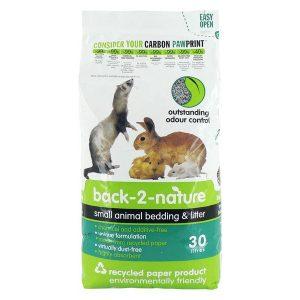 Back 2 Nature Small Animal Litter 30 Litre