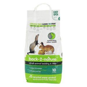 Back 2 Nature Small Animal Litter 10 Litre