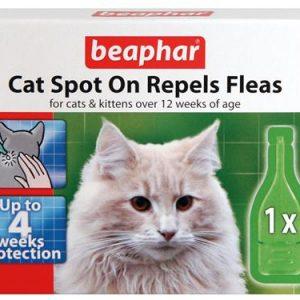 Beaphar Cat Spot On Repels Fleas 4 Week