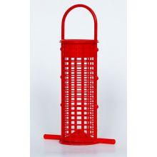 Supa red plastic feeder 7 inch