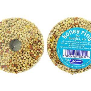 Johnsons Budgie Honey Ring 25g