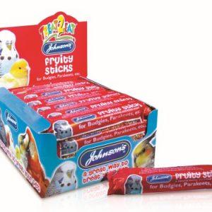 Johnsons Budgie & Parakeet Fruity Sticks