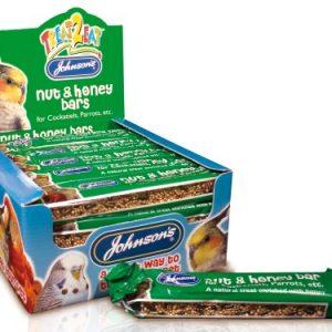 Johnsons Cockatiel & Parrot Honey & Nut