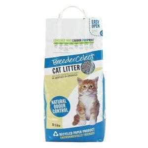 Fibrecycle Breeder Select Cat Litter 30 Litre