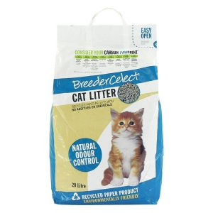 Fibrecycle Breeder Select Cat Litter 20 Litre