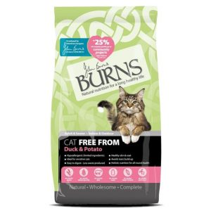 Burns Free From Cat Duck and Potato 2kg