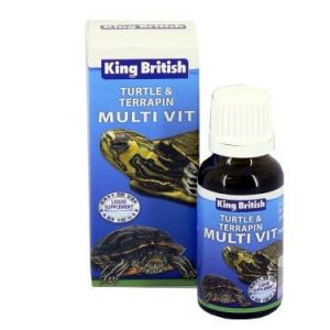 King British Turtle & Terrapin Multi-Vit 20ml