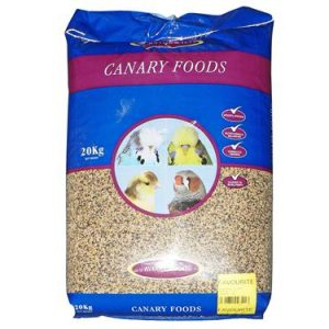 Jeff and Johnson Mixed Canary Seed with Egg 20 kg