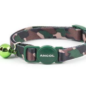 Cat Collar Green Camoflauge