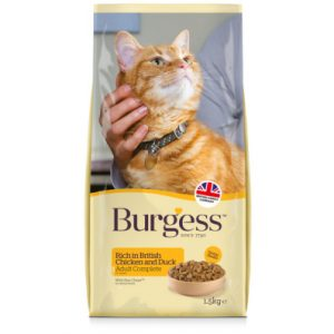Burgess Adult Cat Food Chicken with Duck 1.5kg