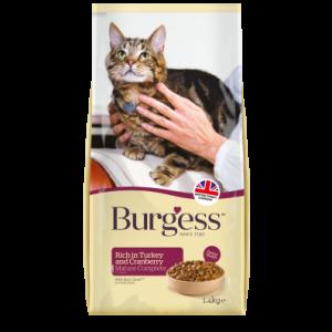Burgess Mature Turkey and Cranberry 1.4kg