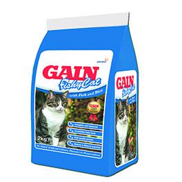 Gain Fishy Cat Food 2kg