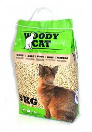 Woody Cat wood based cat litter 8 Litre (5 Kg)