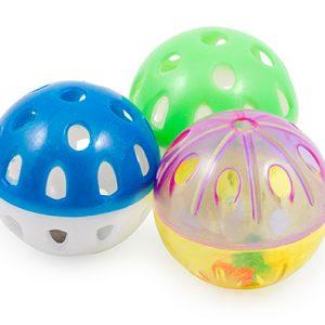 Plastic Balls Cat Toy 3 pack