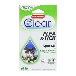Bob Martin Clear Spot On Cat 24 Week Pack