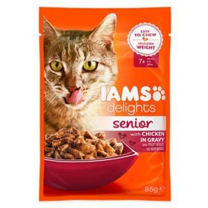 Iams Cat Delights Senior Gravy Single Sachet
