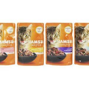 Iams Cat Delights Land and Sea Gravy Single Sachet