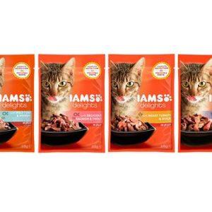 Iams Cat Delights Land and Sea Jelly Single Sachet