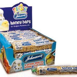 Johnsons Budgie & Parakeet Honey Bars