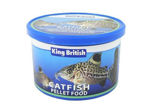 King British Catfish Pellets 200 gram