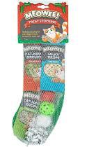 Meowee Christmas Cat Stocking