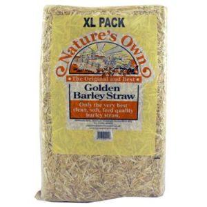 Natures Own Golden Barley Straw 4kg