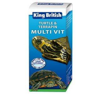 King British Turtle and Terrapin Multi Vitamin 20ml