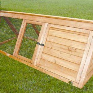Cheeko Wooden Apex Hutch 1.5 metre