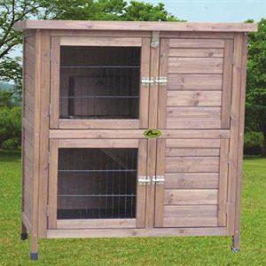 Cheeko Wooden Smart Hutch Two Storey 36 inch