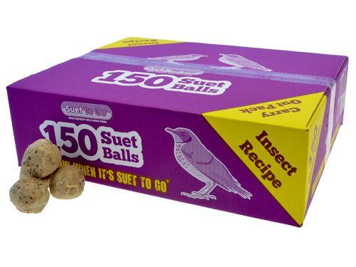 Suet Balls 150 Pack