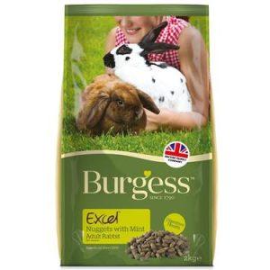 Burgess Excel Rabbit Food Mint 10 kg