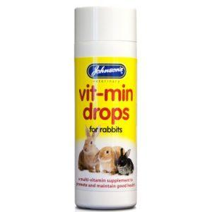 Johnsons Small Animal Vitamin Drops 100ml