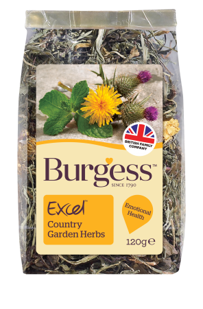 Excel Nature Snacks Country Garden Herbs (120g)