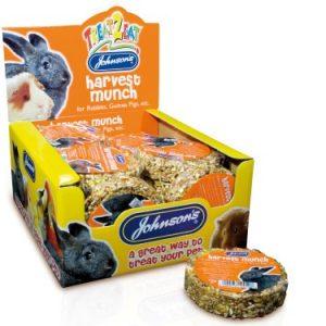 Johnsons Rabbit and Guinea Pig Harvest Munch (70g)