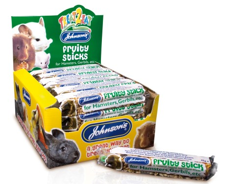 Johnsons Hamster Fruity Stick