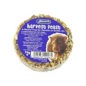 Johnsons Hamster and Gerbil Harvest Munch (70g)